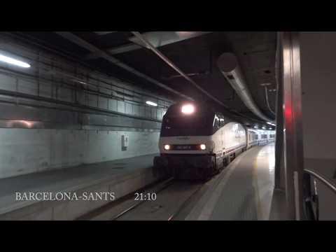 TREN HOTEL RENFE 932 - BARCELONA - GIJON - 2011