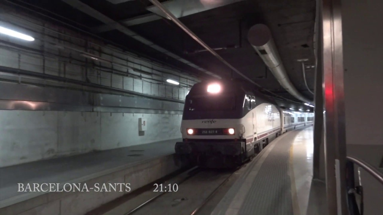 Tren hotel renfe 932 barcelona gijon 2011 youtube for Barcelona paris tren hotel
