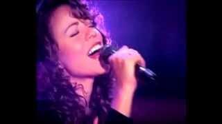 Love takes time Mariah Carey 1993 Thanksgiving concert