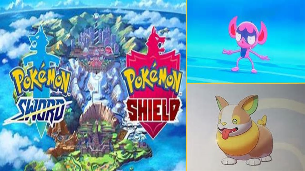 Pokemon Sword And Shield Yamper And Impidimp Reveal Youtube