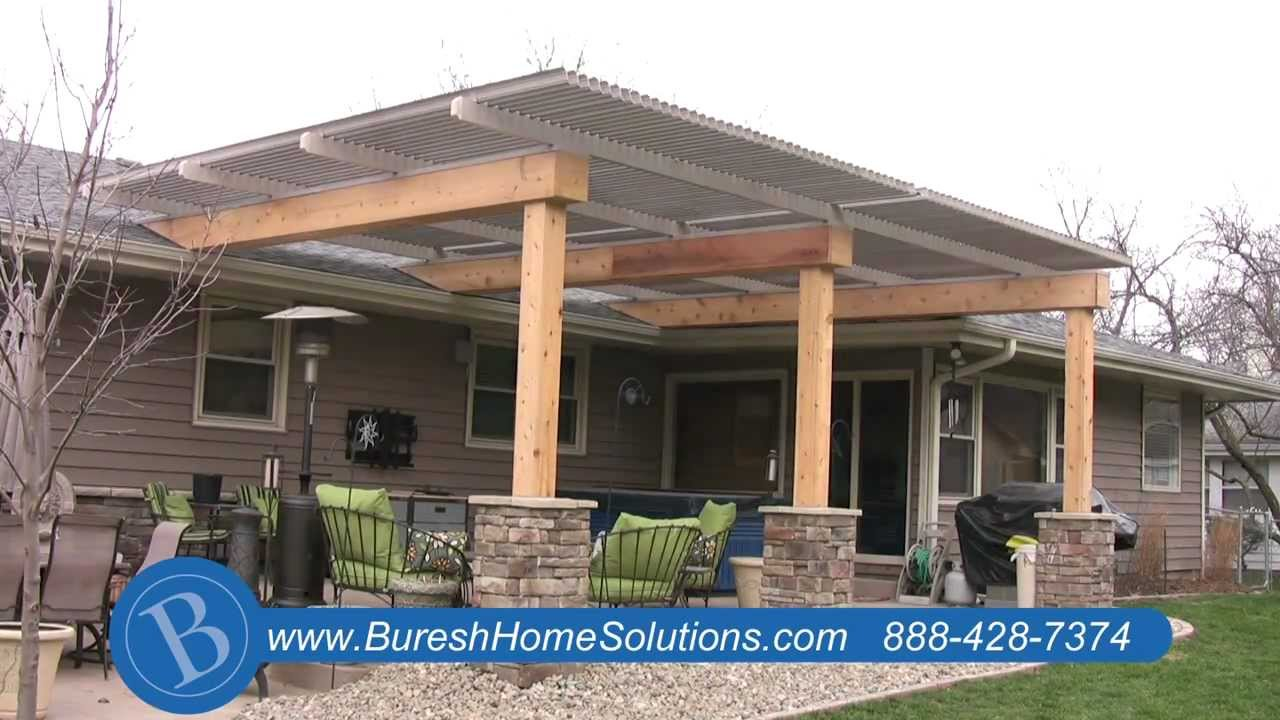 Aluminum Patio Cover Youtube