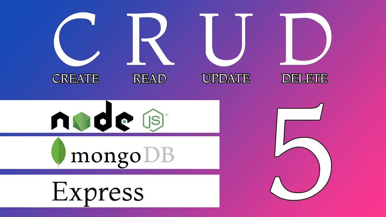 CRUD with Node JS, Express and Mongo Db 5: Update data in Database