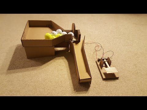 How to Make Semi-Automatic Golf Ball Dispenser.