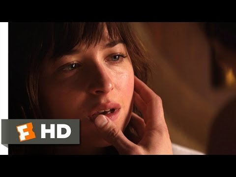 Fifty Shades of Grey (3/10) Movie CLIP - Enlighten Me (2015) HD
