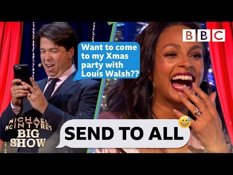 Send To All with Alesha Dixon - Michael McIntyre's Big Show: Episode 6 - BBC One