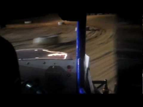 Mark Gilmore In-Car 4/7/12 Opening day Big Diamond Raceway (Feature) ARDC Midget
