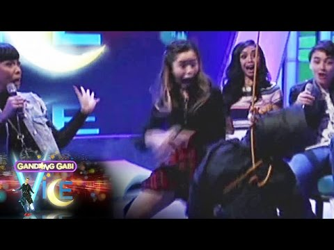 GGV: Kisses was horrified by a falling object