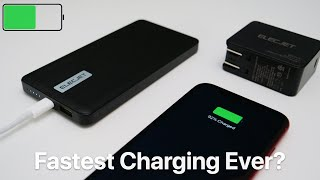 The Fastest Charging Battery Pack Ever? - For iPhone, Android and more.