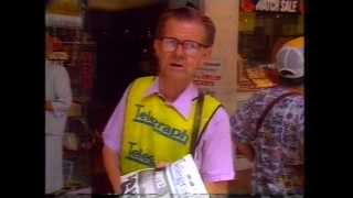 Closure Of Telegraph Newspaper 1988 - Australian TV News Item (1988).m4v