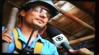 PROFISSÃO REPÓRTER EM RONDÔNIA - CRISE NAS USINAS DO MADEIRA - 05 - USINA DE SANTO ANTÔNIO