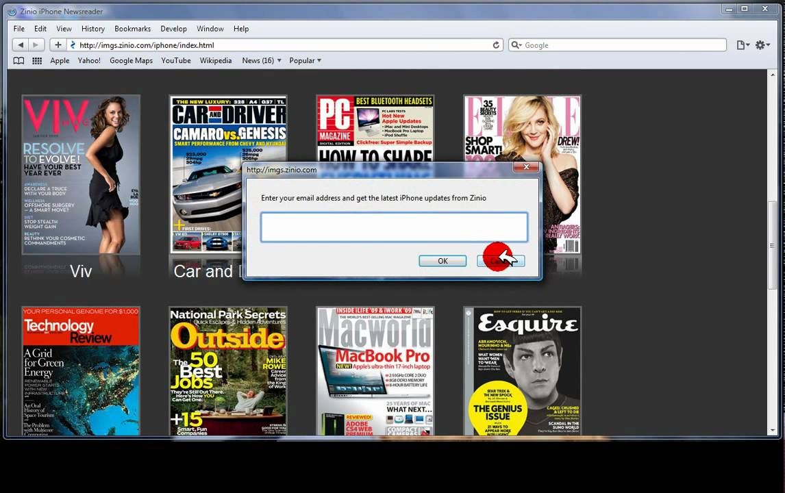 Read Magazines from your Computer For Free