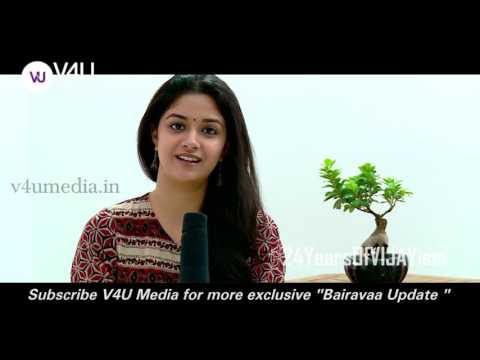 keerthy Suresh talks about her favourite star Ilayathalapathy Vijay 24YearsOfVIJAYism thumbnail
