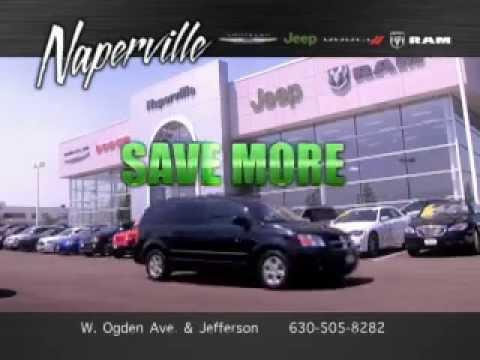 NEW COMMERCIAL - Naperville Chrysler Jeep Dodge Ram - YouTube