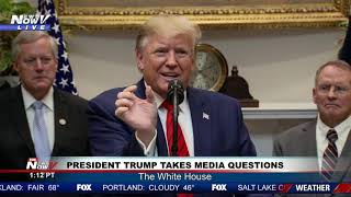 """DROPPING LIKE A ROCK"" President Trump BASHES Joe Biden During Extensive Media Questioning"