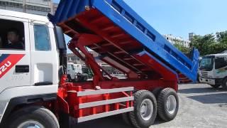 Original Left Hand Drive - ISUZU dump truck [ 637-SF ]   Year:1992  Engine: 10PD1