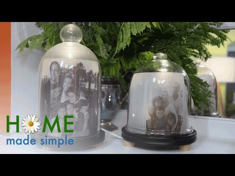 Light Up Your Living Room With This New Way To Display Family Photos | Home Made Simple | OWN