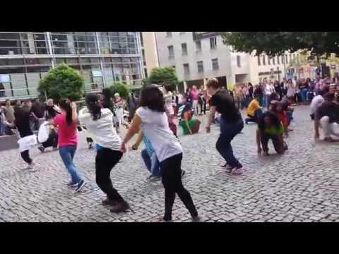 Bollywood Flash Mob in Munich