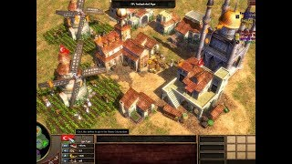 Age of Empires 3- Settler Massacre - 3v3 - Risi123 carying the team