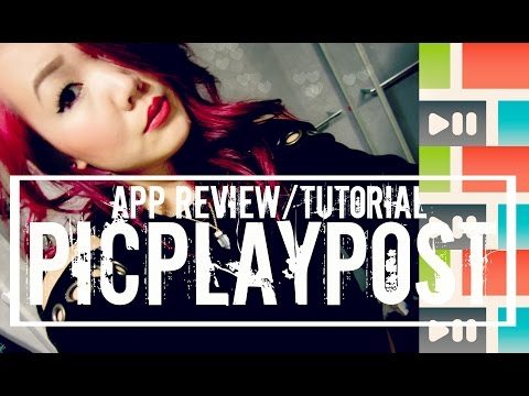HOW TO MAKE INSTAGRAM VIDEO COLLAGES | PicPlayPost Tutorial