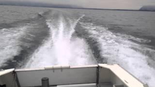 Essai bateau sauvetage avec moteur Yanmar