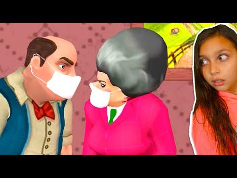 СМОТРИ 10 НОВЫХ ПРИКОЛОВ над МИСС ТИ! НОВЫЕ УРОВНИ MISS T ОБНОВЛЕНИЕ Scary Teacher 3D Валеришка