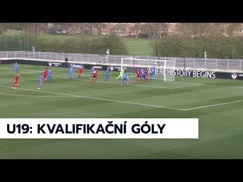 U19: Góly z úspěšné kvalifikace na mistrovství Evropy