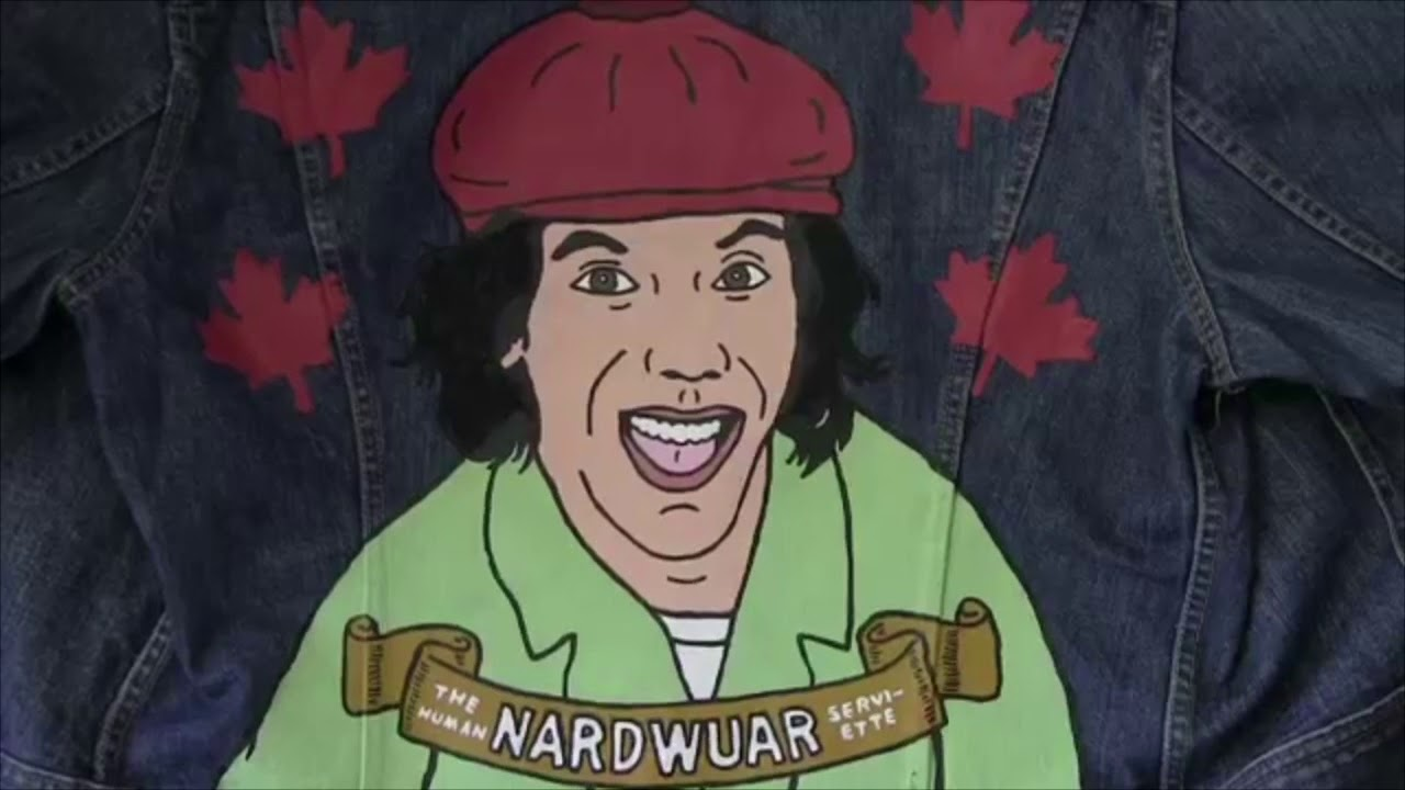 Nardwuar Receiving Gifts for 4 Minutes Straight