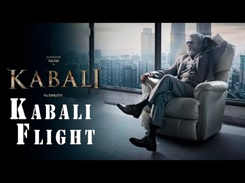 Rajini Power - Kabali Special Flight from Bengaluru to Chennai | AirAsia | July 15th