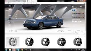 видео 3D тюнинг автомобиля Ауди А4