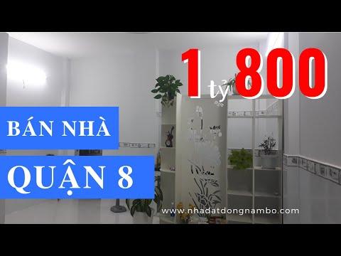 Chính chủ Bán nhà Quận 8 dưới 2 tỷ, đường Lưu Hữu Phước phường 15 Quận 8