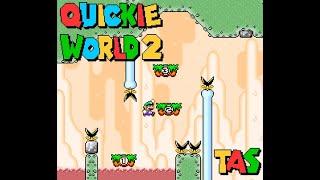 Quickie World 2 (100%) in 17:15 [TAS]