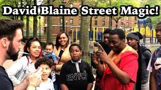 David Blaine Type Street Magic!