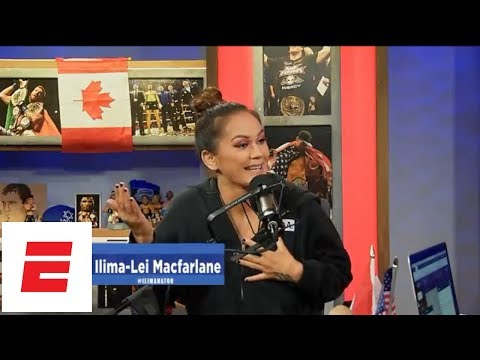 [FULL] Ilima-Lei Macfarlane interview | Ariel Helwani's MMA Show | ESPN