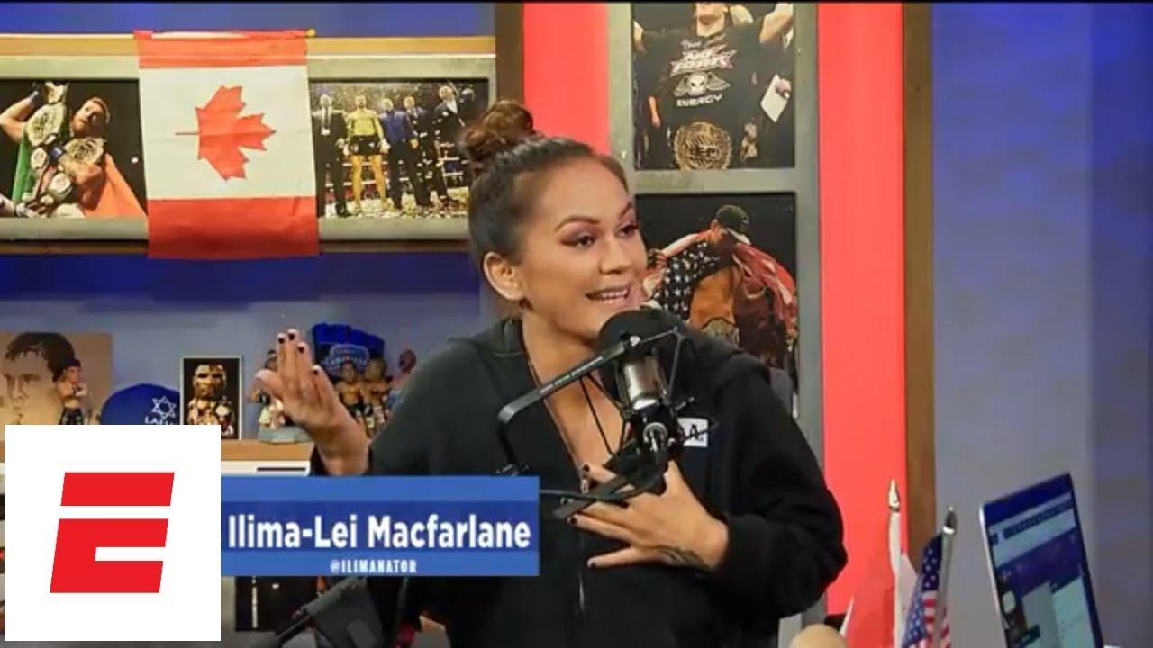 [FULL] Ilima-Lei Macfarlane interview   Ariel Helwani's MMA Show   ESPN