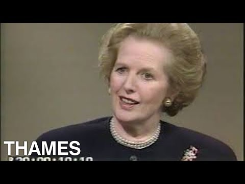 Margaret Thatcher interview | Conservative Party | British Prime Minister | 1987