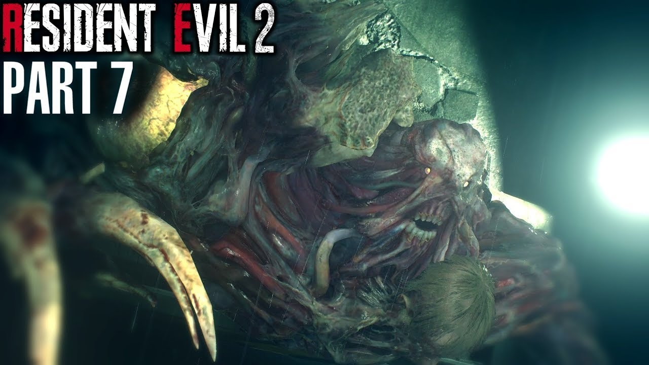 G Creature Stage 2 Resident Evil 2 Remake Part 7 Youtube