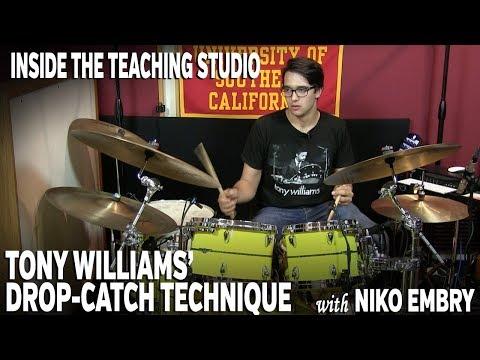"Tony Williams' ""Drop-Catch"" Technique / Inside the Teaching Studio"