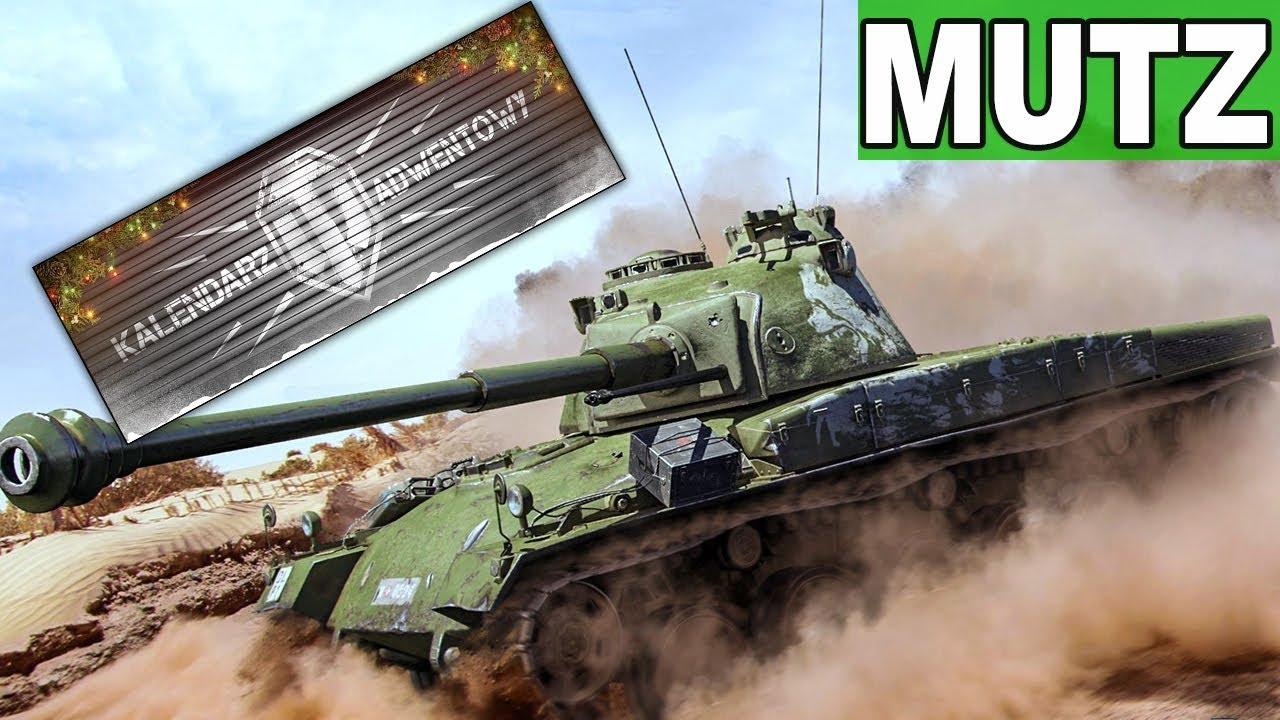 Panzer 58 Mutz – KALENDARZ ADWENTOWY  – World of Tanks