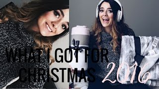 What I Got For Christmas 2016 | Brittany O'Barr