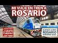 El tren a Rosario - Así es desde Buenos Aires la manera más económica de viajar
