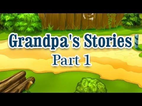 Moral Stories - Grandfather - Hindi Animation Part - 1