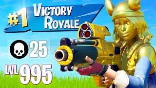 NEW UPDATE!! Winning in Solos! (Fortnite Battle Royale)