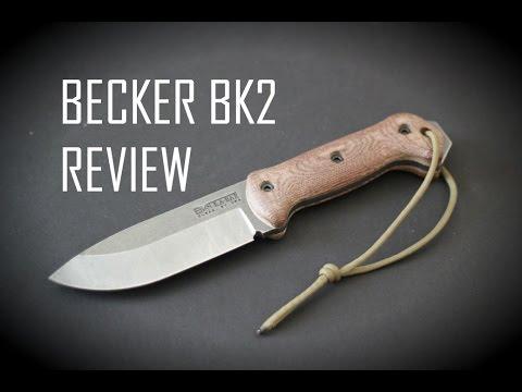 Black Scout Reviews - Ka-Bar Becker BK2 Companion