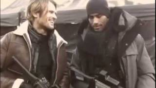 Resident Evil: Retribution - Behind the Scenes With Leon and Luther - HorrorBid.com