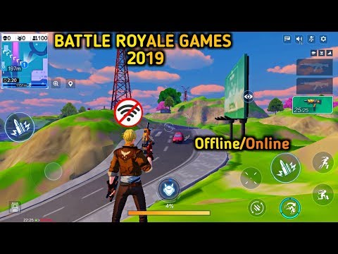Top 7 Best Battle Royale Games For Android/ios 2019 | New Battle Royale Games 2019 | Offline/Online