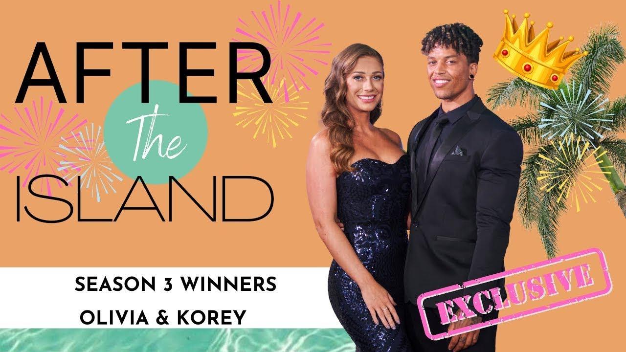 EXCLUSIVE WITH KOREY & OLIVIA - LOVE ISLAND USA SEASON 3 WINNERS