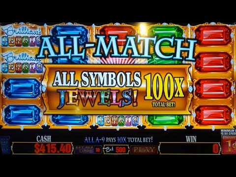 Brilliant Jewels Slot - HUGE WIN - INCREDIBLE HITS!!!
