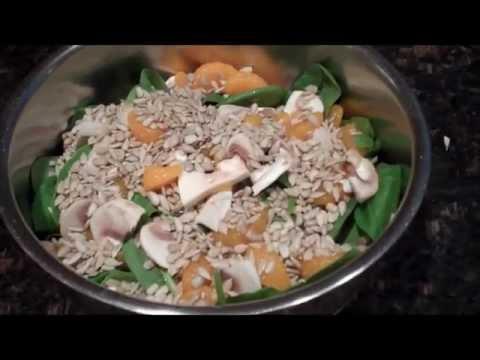 Spinach Salad With Mandarin Oranges