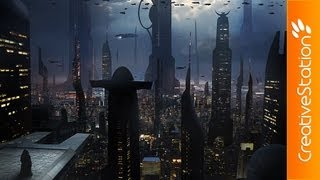 Coruscant - Speed art ( #Photoshop CS5 ) | CreativeStation