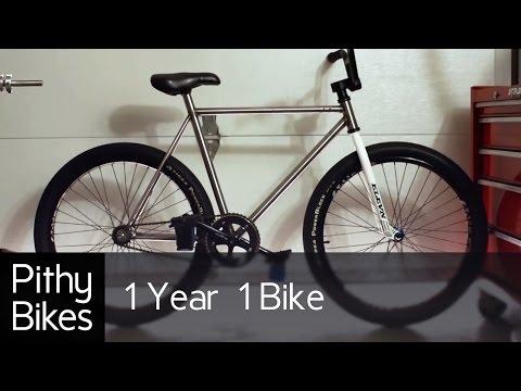 1 Year 1 Bike - Bicycle Frame Build, Machining Milling, Lathe, Jig, Tig Weld